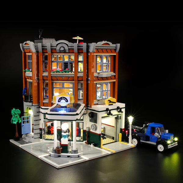 Lego Light Kit For Corner Garage 10264  Lightailing