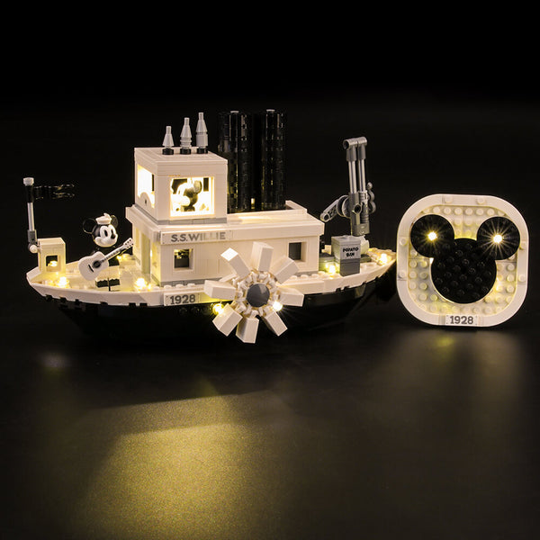 Lego Light Kit For Steamboat Willie 21317  Lightailing