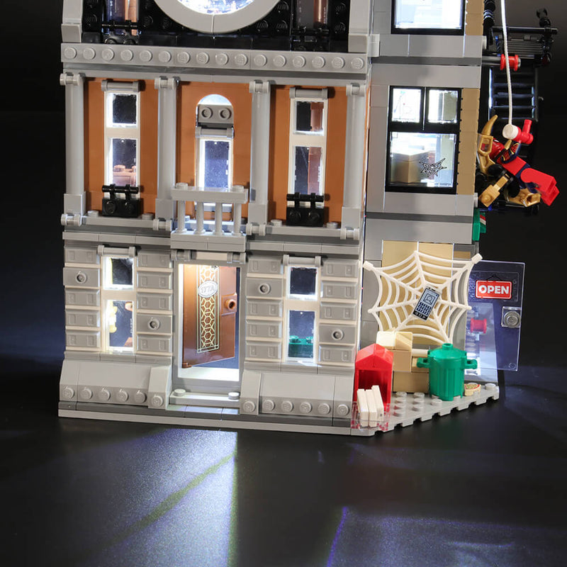 Lego Light Kit For Sanctum Sanctorum Showdown 76108  BriksMax