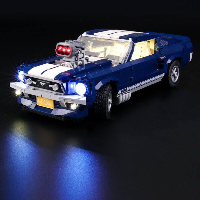 Lego Light Kit For Ford Mustang 10265  Lightailing