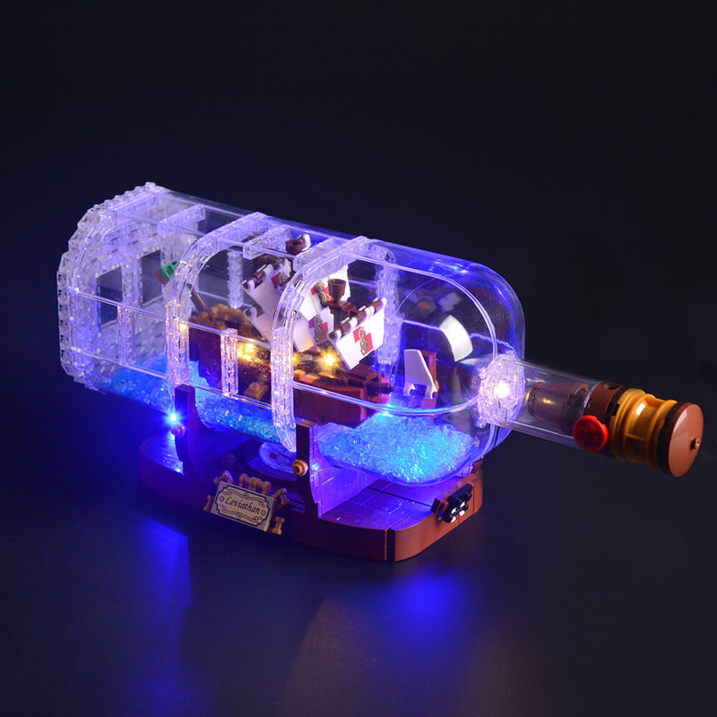 Lego Light Kit For Ship in a Bottle 21313  Lightailing