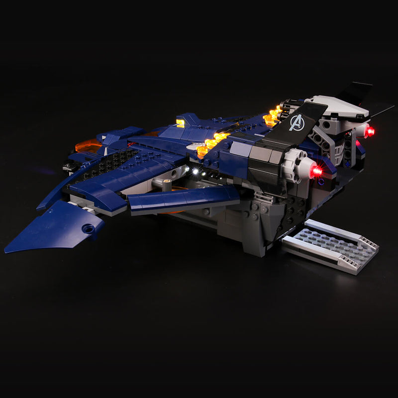 Lego Light Kit For Avengers Ultimate Quinjet 76126  BriksMax