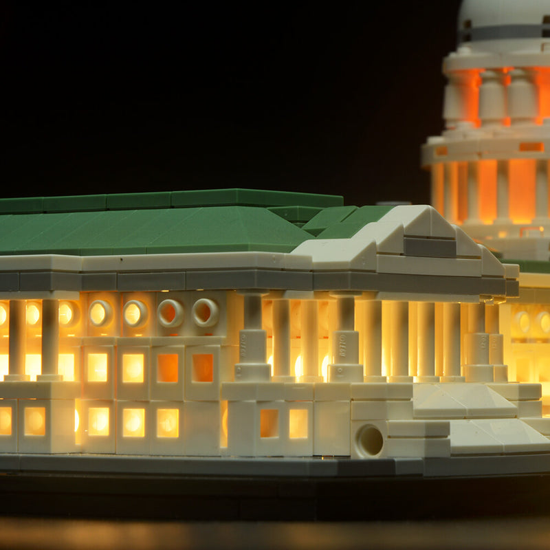 Lego Light Kit For United States Capitol 21030  BriksMax