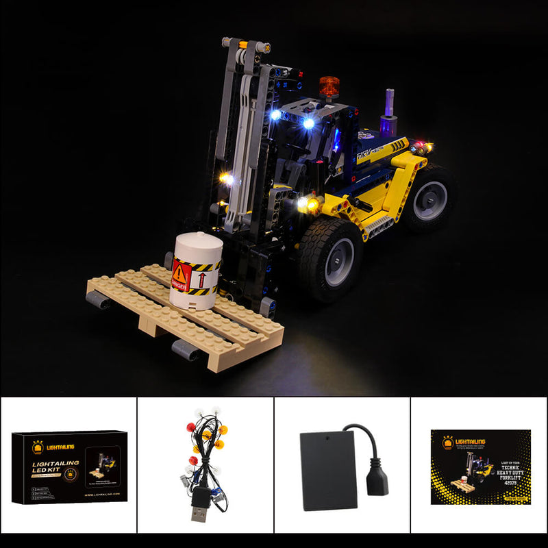 Lego Light Kit For Heavy Duty Forklift 42079  Lightailing