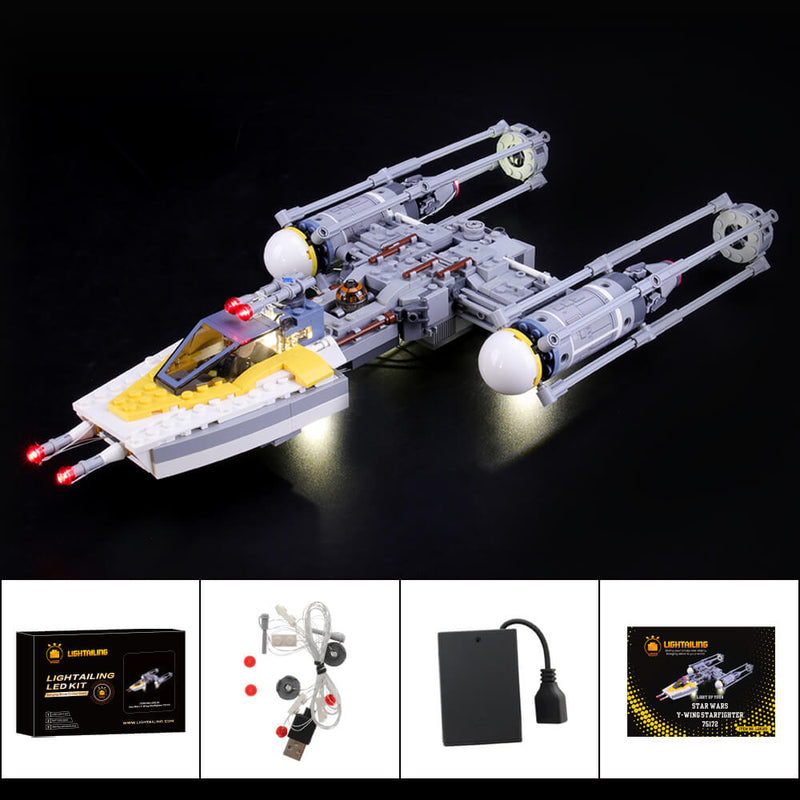 Lego Light Kit For Y-Wing Starfighter 75172  Lightailing