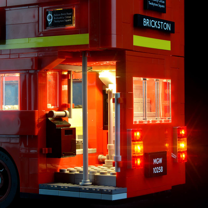 Lego Light Kit For London Bus 10258  Lightailing