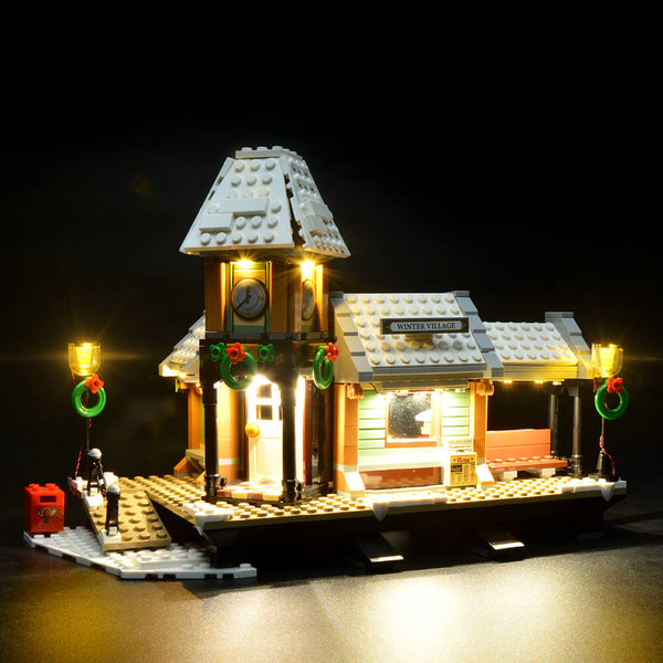 Lego Light Kit For Winter Village Station 10259  BriksMax