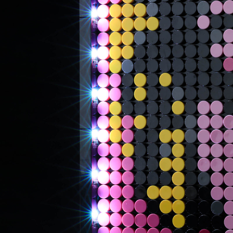 lego wall art led lights