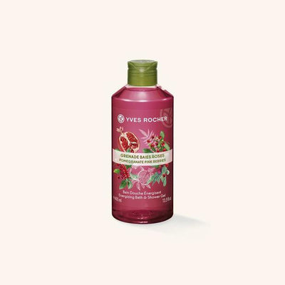 Yves Rocher Bain Douche Grenade Baies Roses