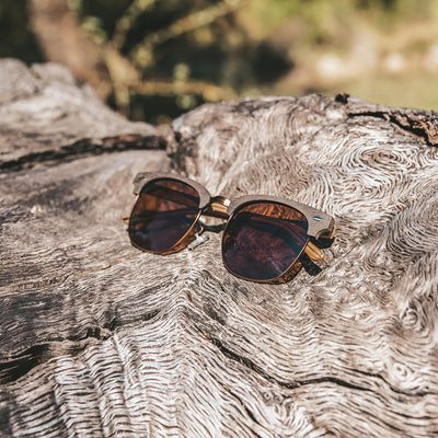 Joplins Zeneye Wood Sunglasses