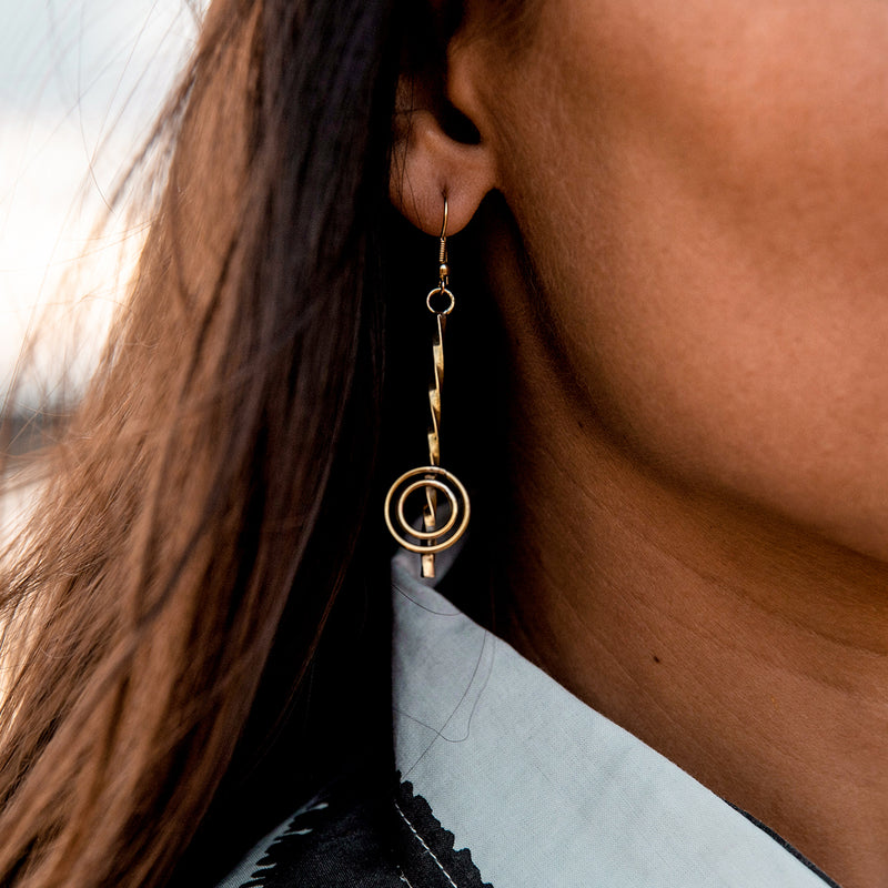 Infinite Circle Earrings