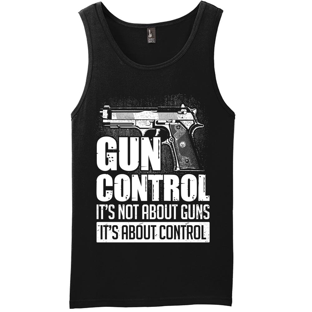 It's Not About Control Tank Top