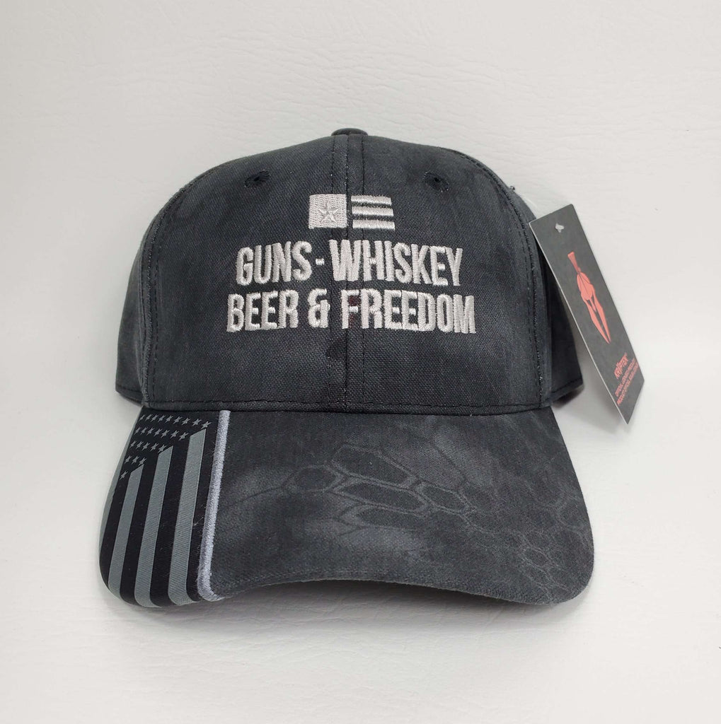 Guns Whiskey Beer & Freedom Hat