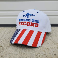 Defend The Second Authentic American Hat