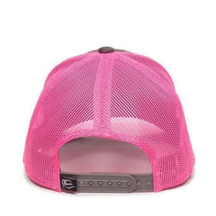 Faith Over Fear Mesh Authentic Pink Hat