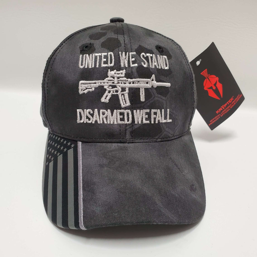 United We Stand AR-15 Disarmed We Fall Hat