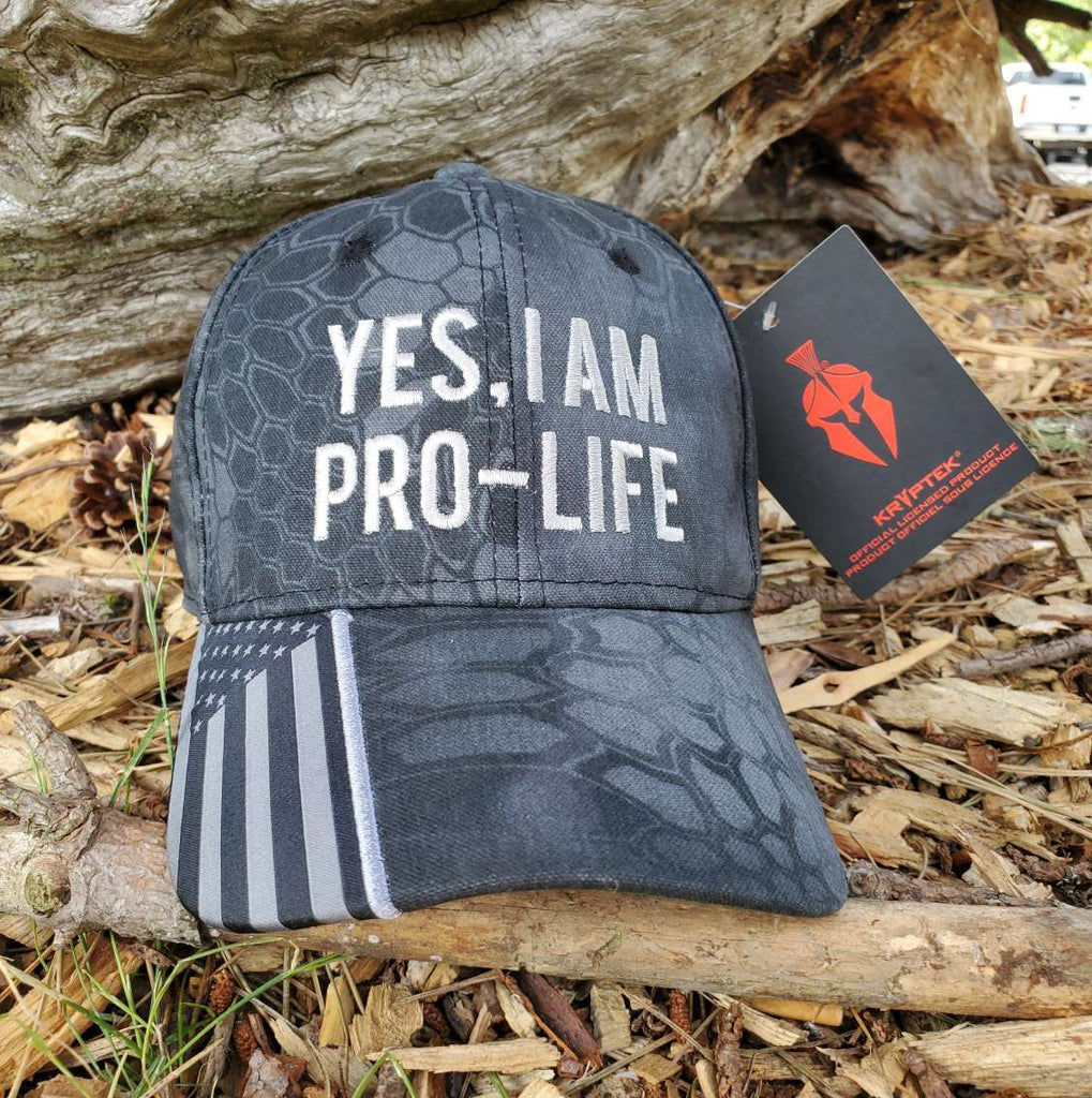 Yes, I Am Pro-Life Classic Authentic Hat