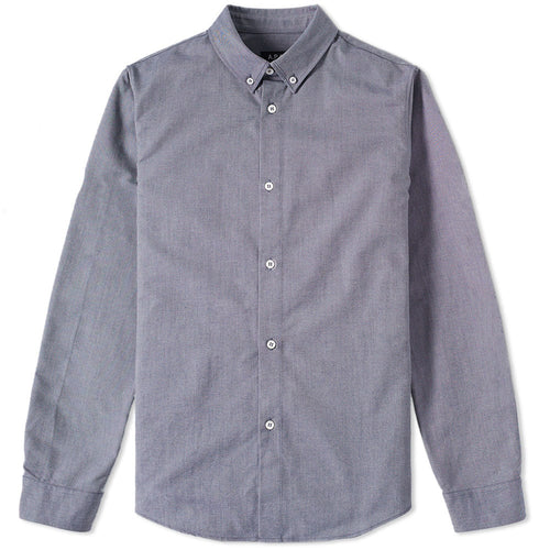 A.P.C. Chemise Button Down Oxford Dark Navy