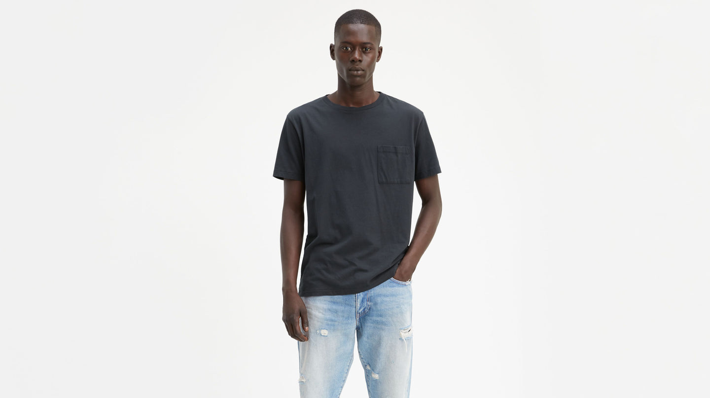 Levi's® Made & Crafted® T-shirt Pocket Caviar black