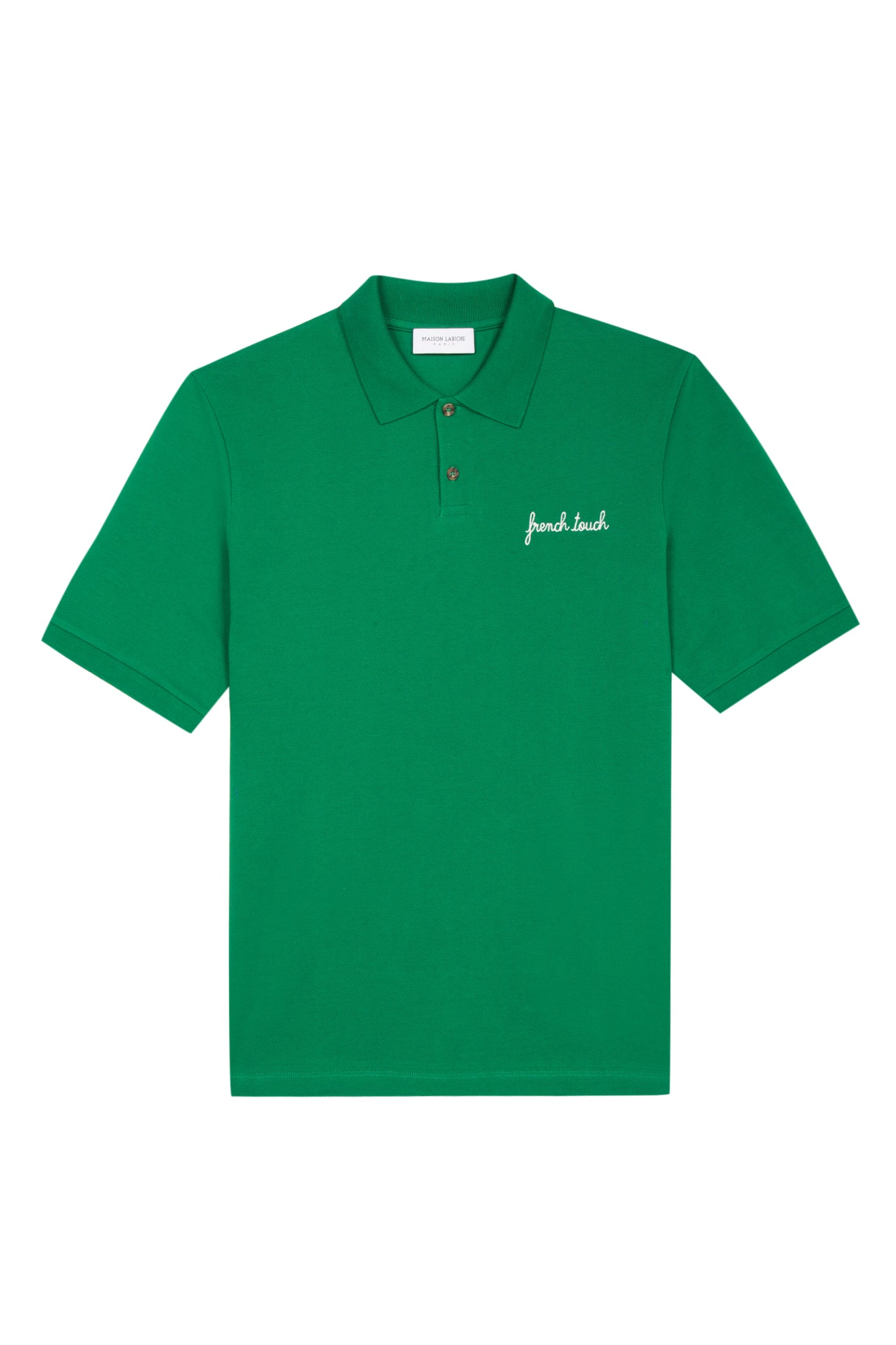 Maison Labiche Polo Tennis French touch Vert