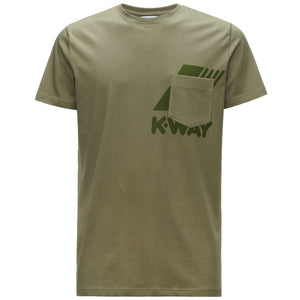 K-WAY T-shirt Ros Olive