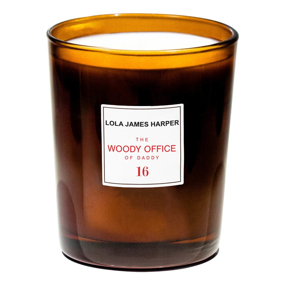 Bougie parfumée Lola James Harper  The Woody Office of Daddy 16
