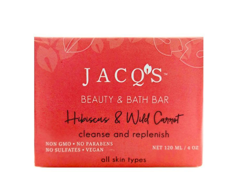 Hibiscus and Wild Carrot Cleansing Bar