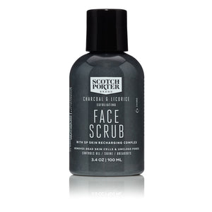 Charcoal and Licorice Exfoliating Face Scrub