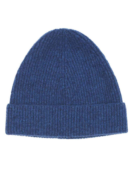 GENEVIEVE SWEENEY rhapsody blue wool hat