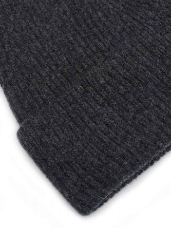 charcoal grey wool hat