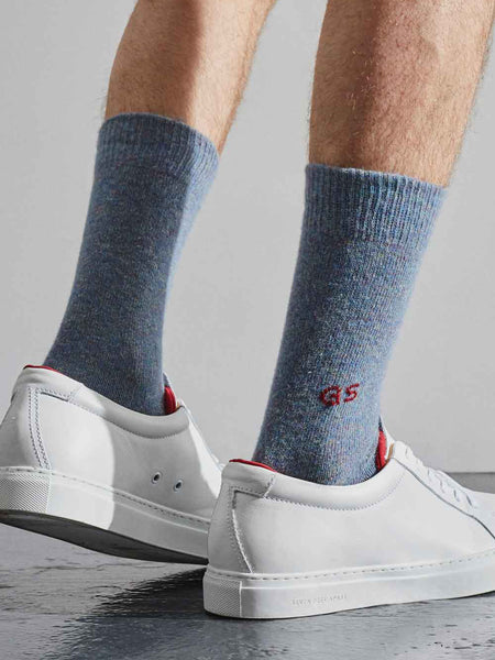 cloud blue socks