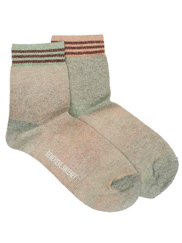 ombre lurex socks