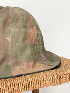 reversible vintage camo bell hat