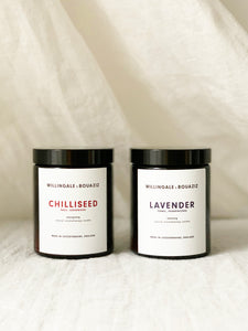 natural aromatherapy candle set