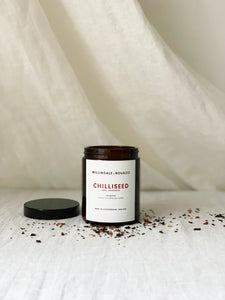 chilliseed natural aromatherapy candle