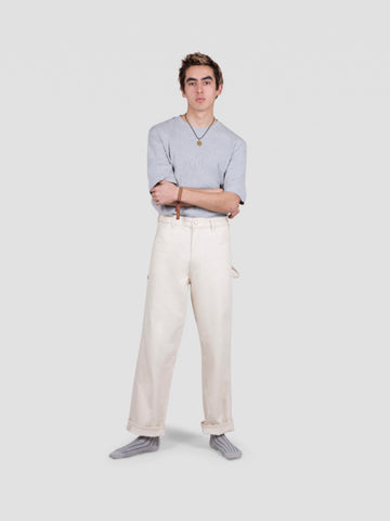 ecru selvedge painters pants