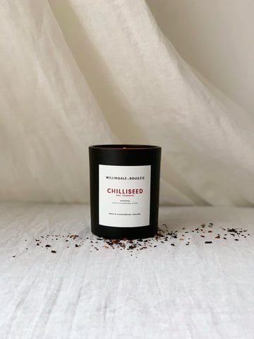 grande chilliseed natural aromatherapy candle