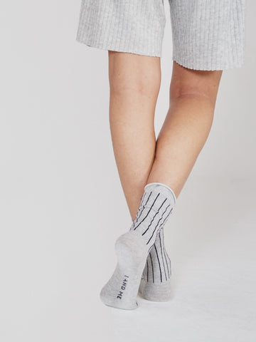 grey stripe socks pack