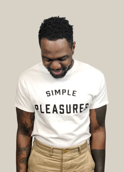 SIMPLE PLEASURES t shirt