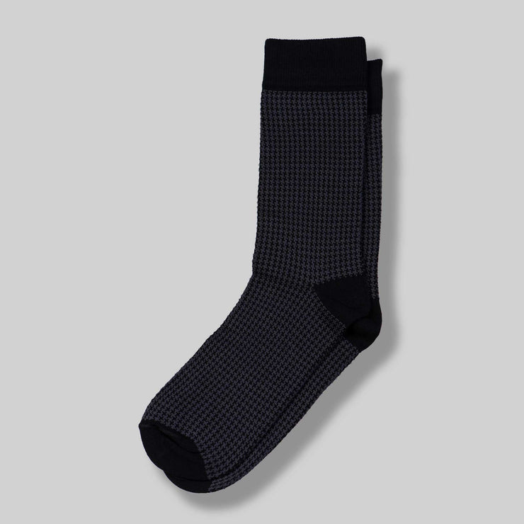 Grey Mercerized Socks