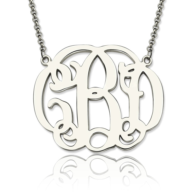 Personalized Celebrity Monogram Necklace
