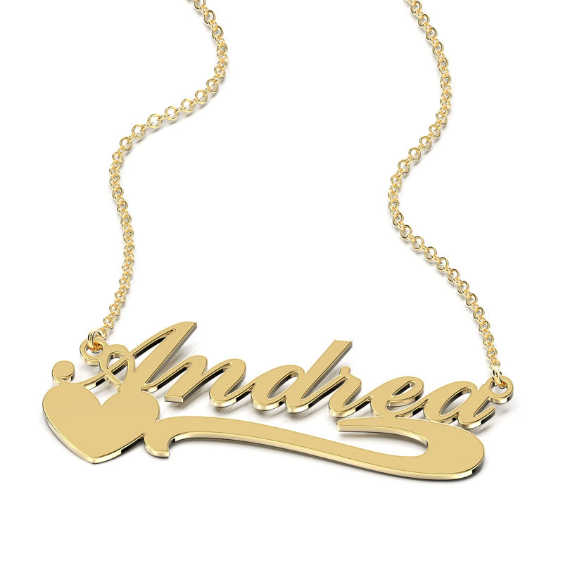 Special Love name necklace