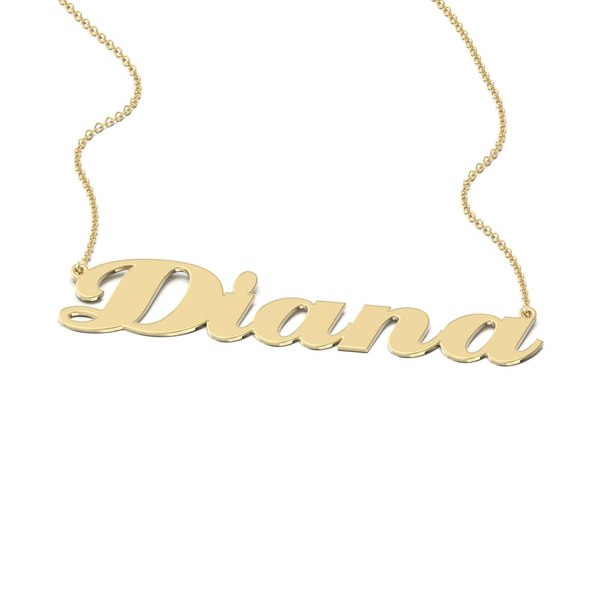 Eclat Style Name Necklace