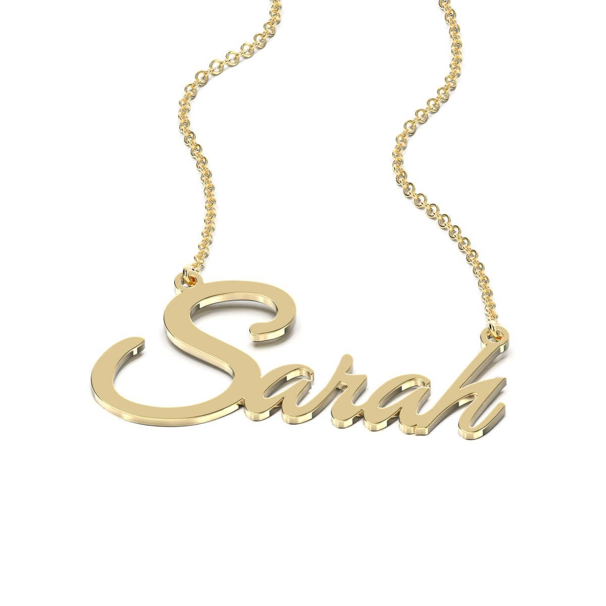 Great Vibes Style Name Necklace