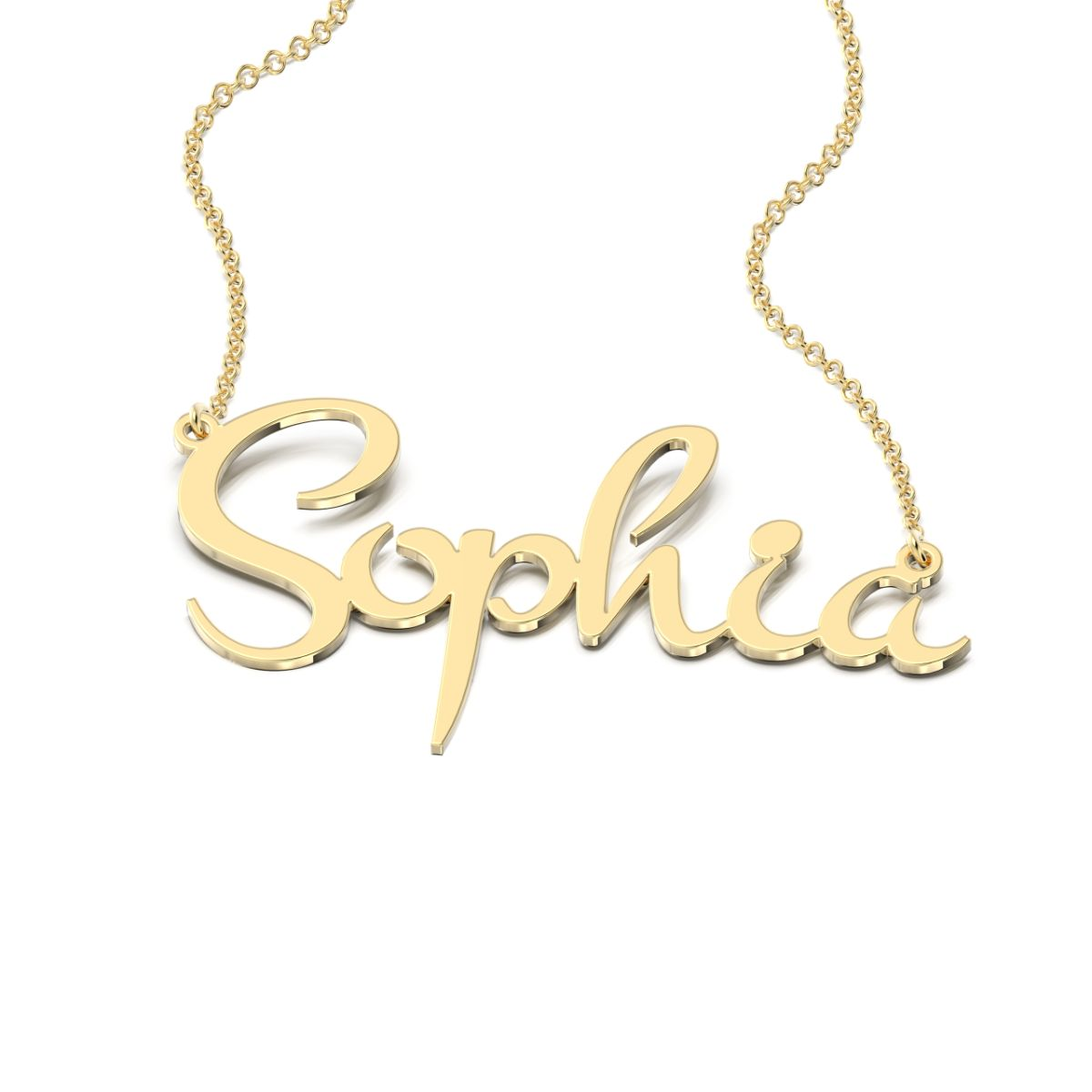 Montez Style Name Necklace