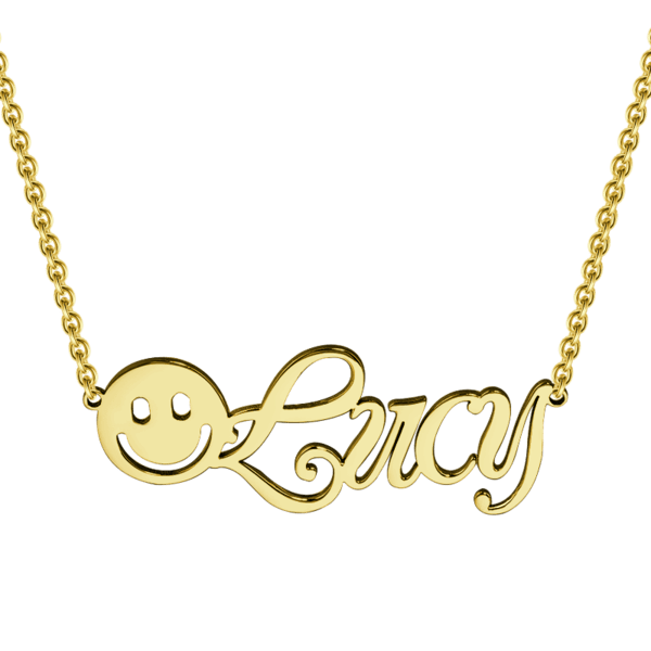 Happiness Name Necklace
