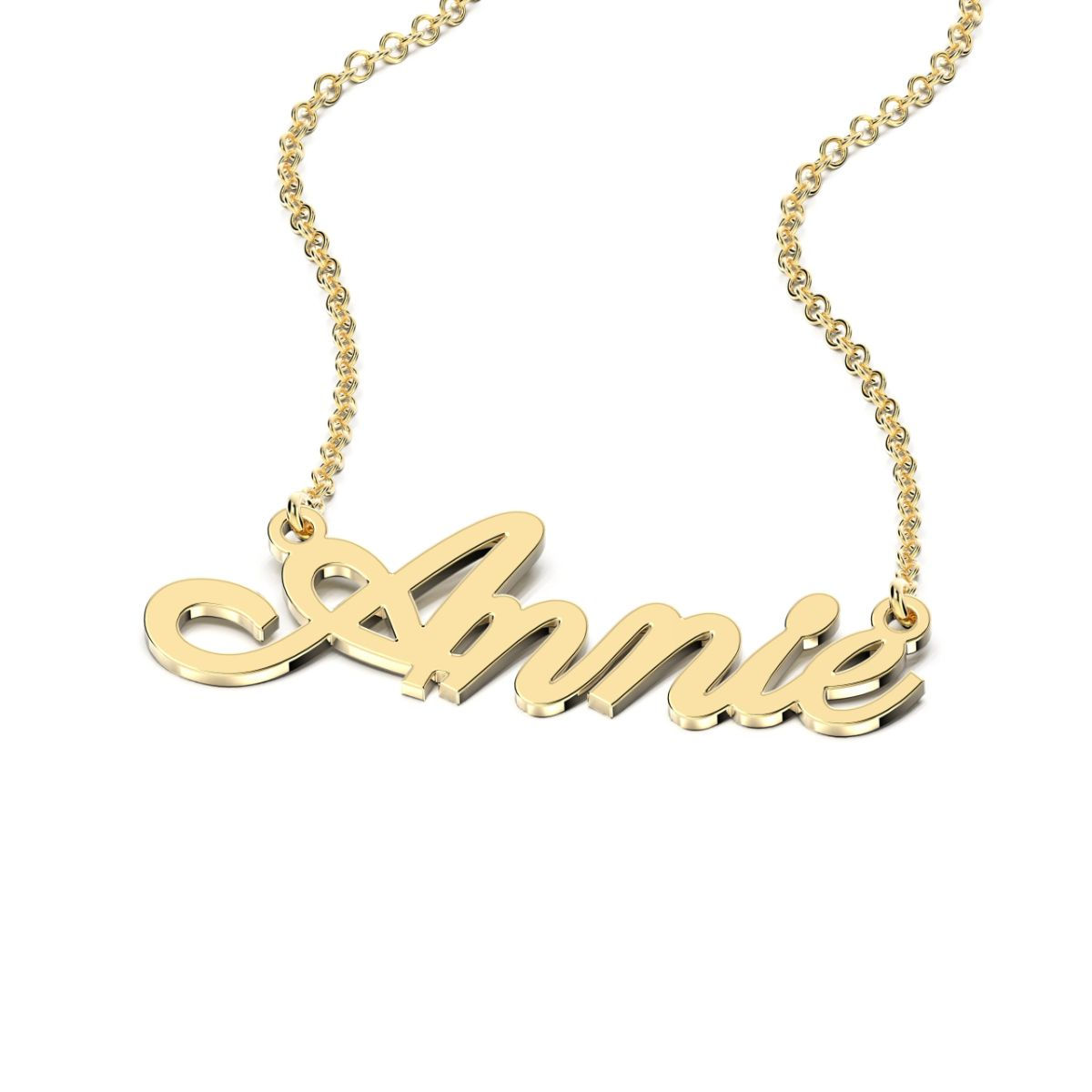 Parisienne Style Name Necklace