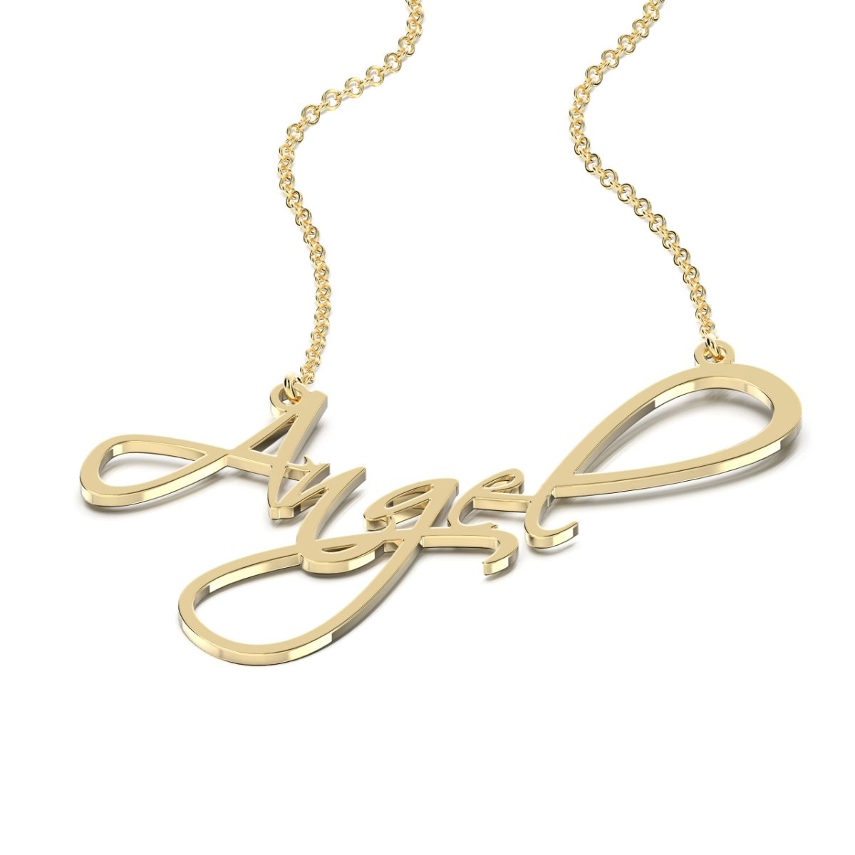 Scriptina Style Name Necklace