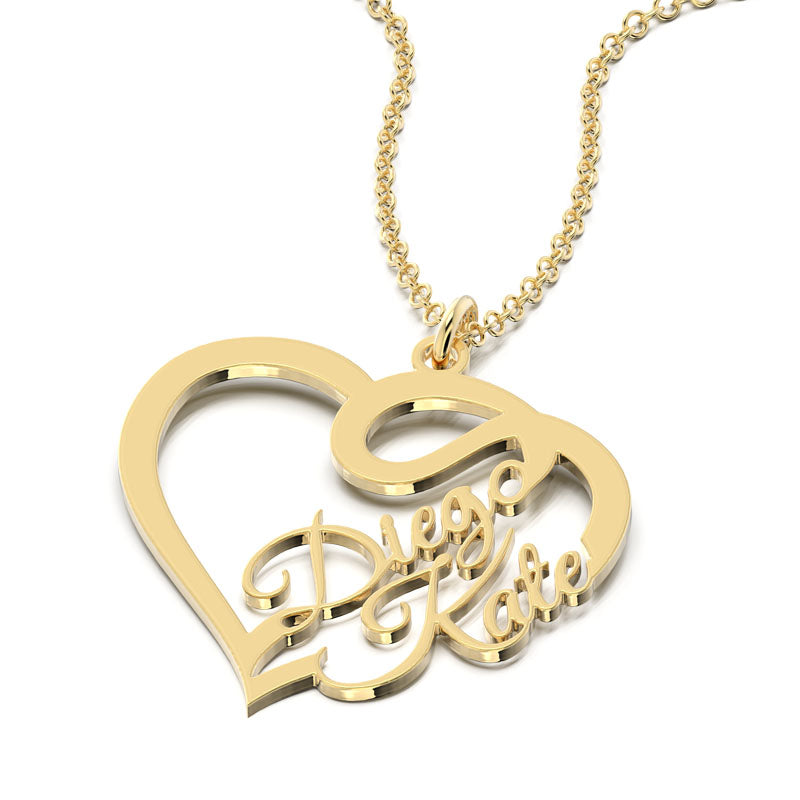 Together forever Name Necklace