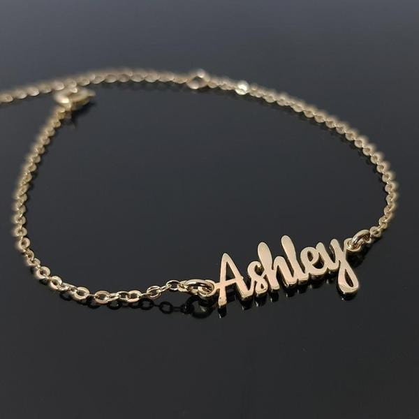Proudly Filipina name bracelet